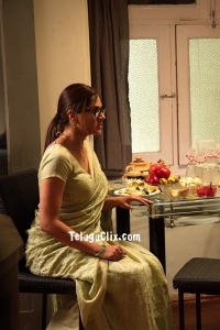 Sakshi Chaudhary in Saree