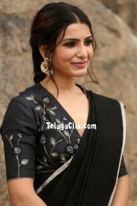 Samantha Akkineni in Saree HD Photos