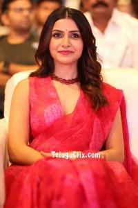 Samantha HD at Jaanu Pre Release