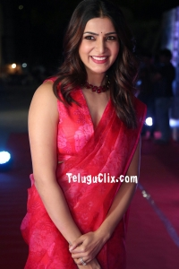 Samantha in Saree HD Jaanu Pre Release
