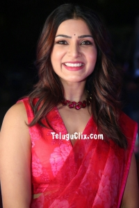 Samantha in Saree HD Jaanu Pre Release