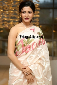 Samantha Akkineni HD Jaanu Saree Photos
