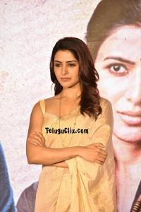 Samantha at Jaanu Trailer Launch