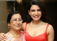 Samantha Akkineni with Her Mother