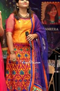 Tollywood Singer Sameera Bharadwaj