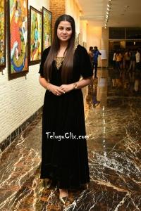 Sangeetha in Black Dress