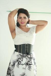 Sanjana Naidu Pics White Dress