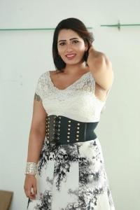 Sanjana Naidu Pics in White Dress