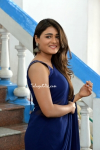 Shalini Pandey in Blue Saree