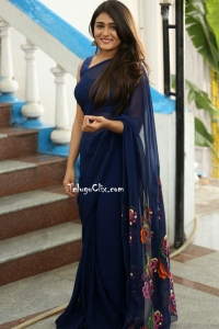 Shalini Pandey in Saree HQ Photos