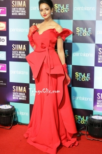 Shanvi HD at Siima Awards 2019 Red Carpet