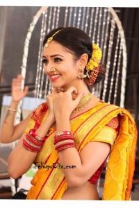 Shanvi Srivastava in Saree