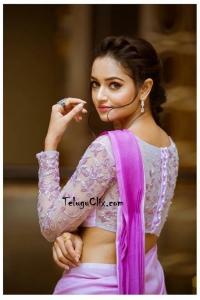 Shanvi Srivastava Latest Saree Photoshoot