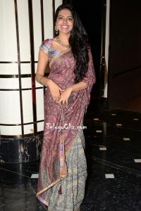 Shivani Rajashekar in Saree