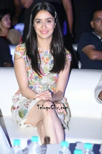 Shraddha Kapoor at Saaho Pre Release