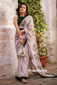 Shraddha Srinath in Saree Ultra HD