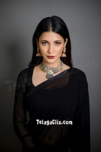 Shruti Haasan in Saree HD