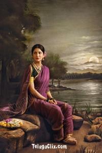 Shruti Haasan UHD Raja Ravi Varma Painting