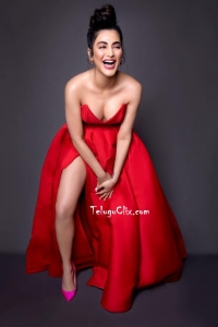 Shruti Haasan Hot Red Photoshoot