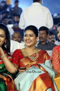 Sneha in Pattu Saree at Vineya Vidheya Rama Pre Release