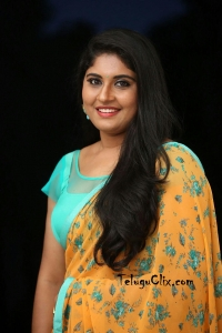 Sonia Chowdary in Saree Latest Photos HD