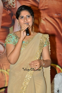 Anchor Sonia Chowdary Saree Photos