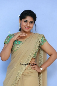 Sonia Chowdary Saree Photos