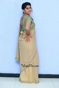 Sonia Chowdary Saree Photos