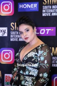 Sree Mukhi at Siima Awards 2021