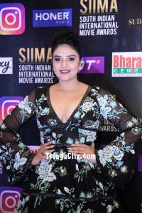 Sree Mukhi at Siima Awards Red Carpet 2021