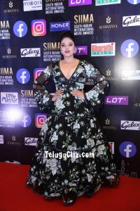 Sree Mukhi at Siima Awards Event 2021