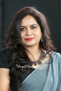 Singer Sunitha in Saree Pics