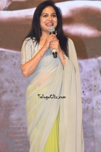 Singer Sunitha in Saree at Events Functions