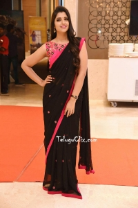 Syamala in Black Saree