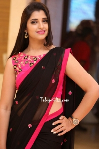 Syamala in Saree HQ Photos