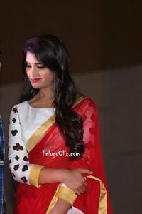 Syamala in Red Saree Pics