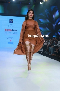 Tamanna Ramp Walk Bombay Times Fashion Week  2020