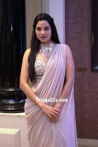 Tanya Hope in Saree 2020