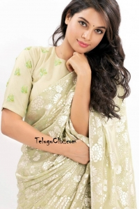 Tanya Hope in Saree