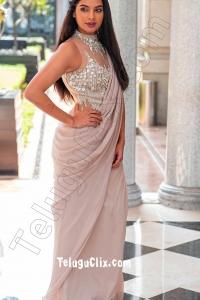 Tanya Hope Ultra HD in Saree