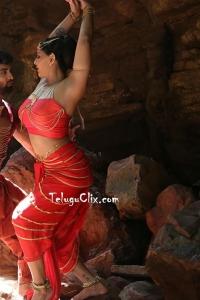 Varalaxmi in Red Naga Kanya - Neeya 2 Movie