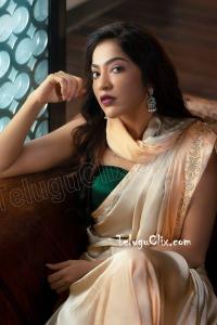 VJ Ramya in Saree HD
